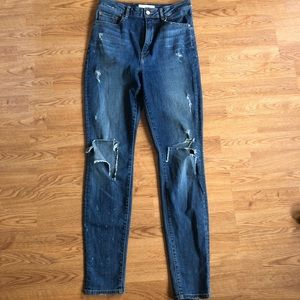 Aritzia The Castings Jeans High Rise Skinny 28
